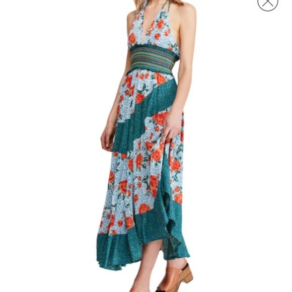 Free People Dresses & Skirts - Free People Gabriela Halter Dress, Size XSmall